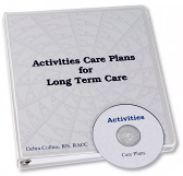 Activities Care Plans Book